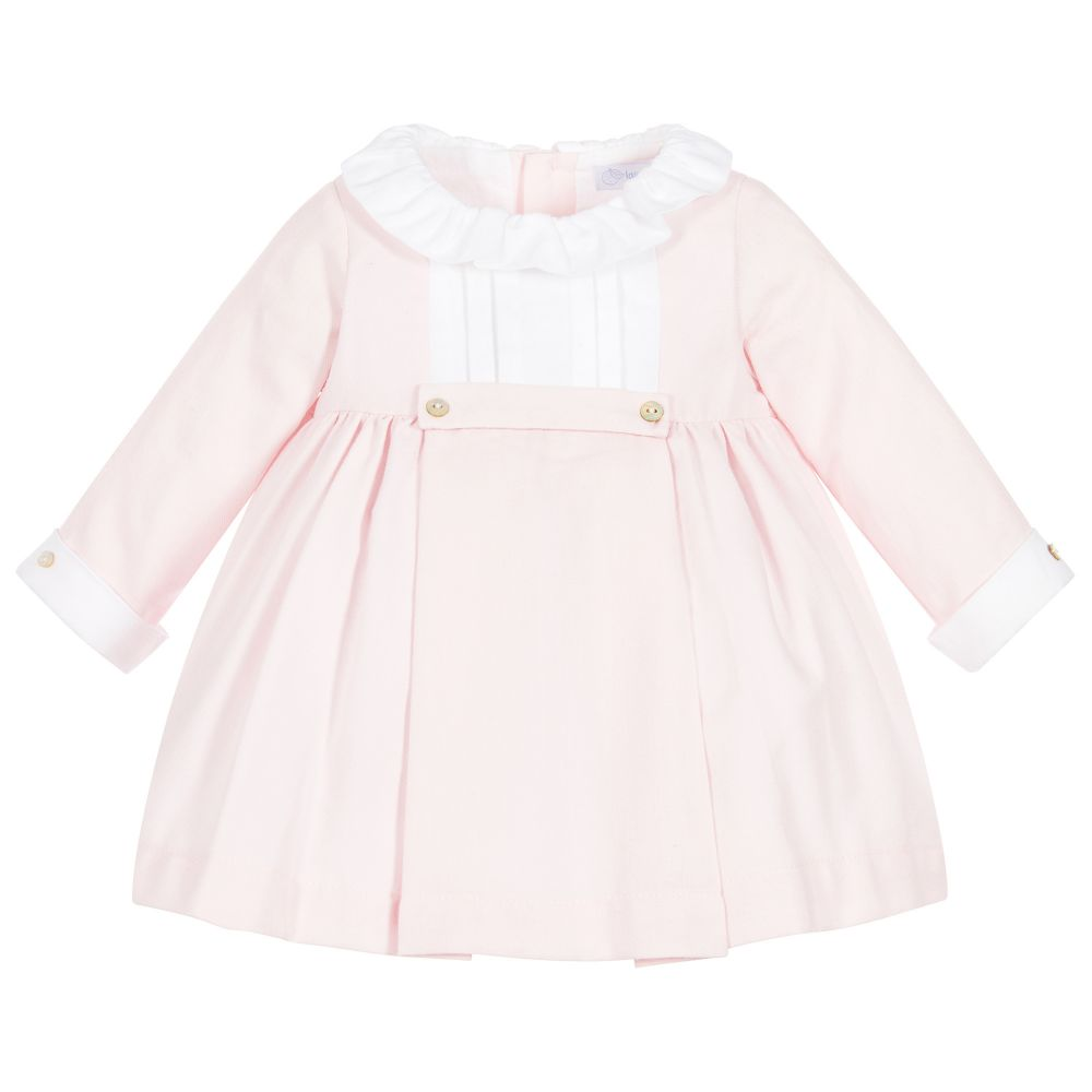 Laranjinha - Baby Girls Pink Dress  | Childrensalon
