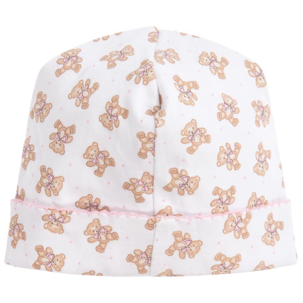 Magnolia Baby Baby Girl Vintage Baby Printed Hat Pink