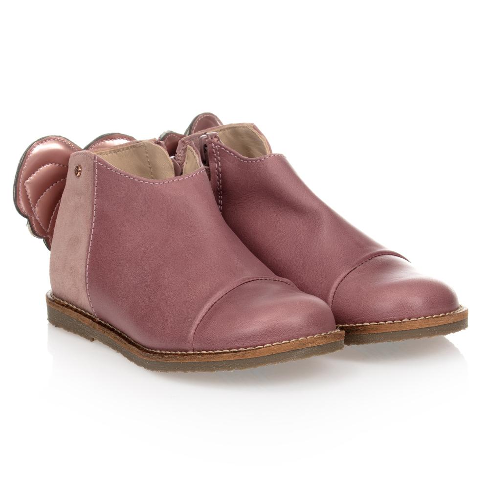 Manuela de Juan - Girls Pink Leather