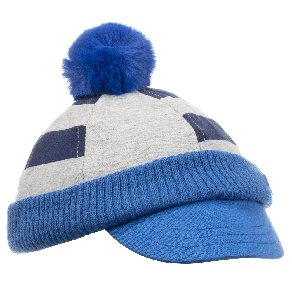 fc69d70f0 Baby Boys Grey & Blue Cap