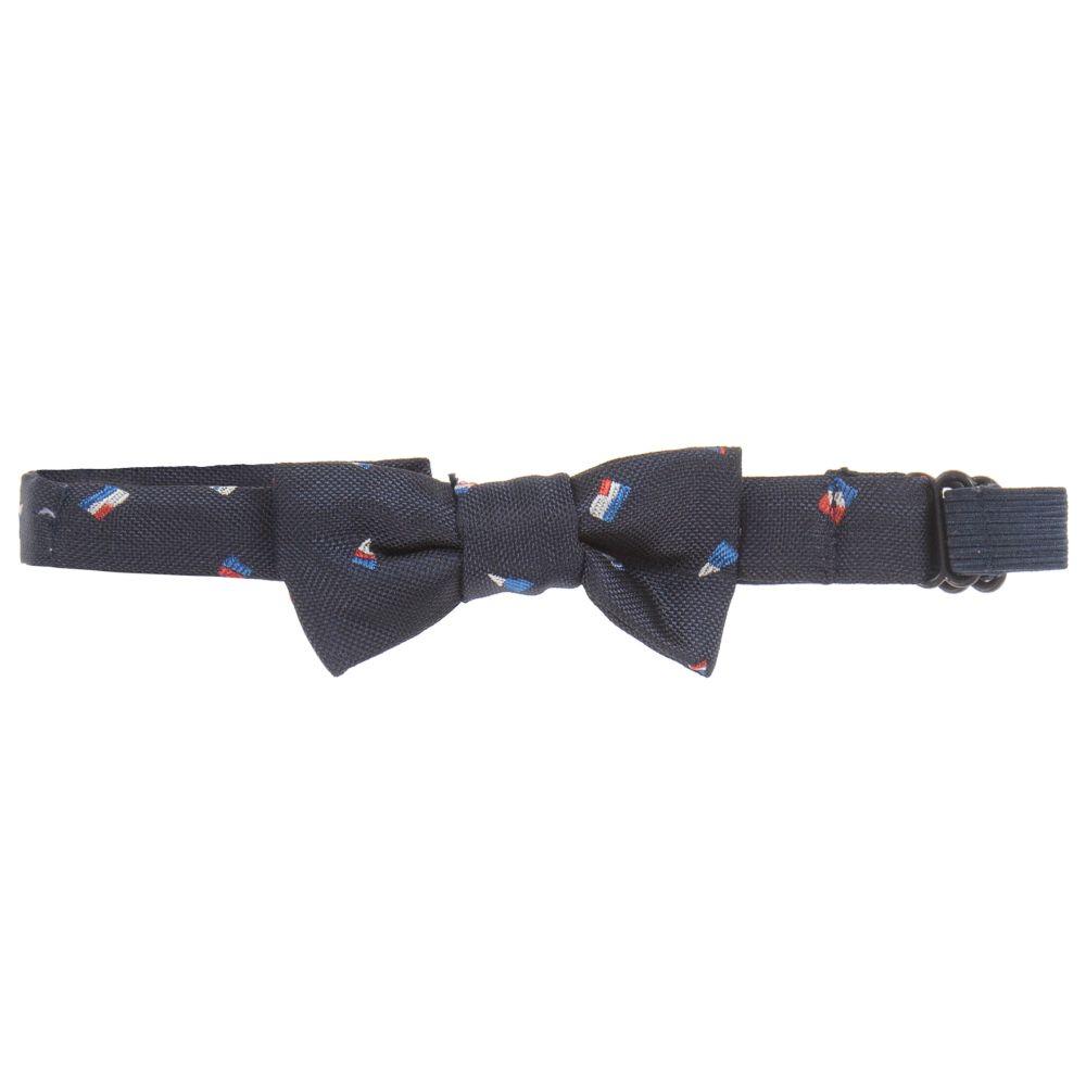 fcfd8d117de4 Mayoral - Boys Navy Blue Bow Tie (6cm) | Childrensalon