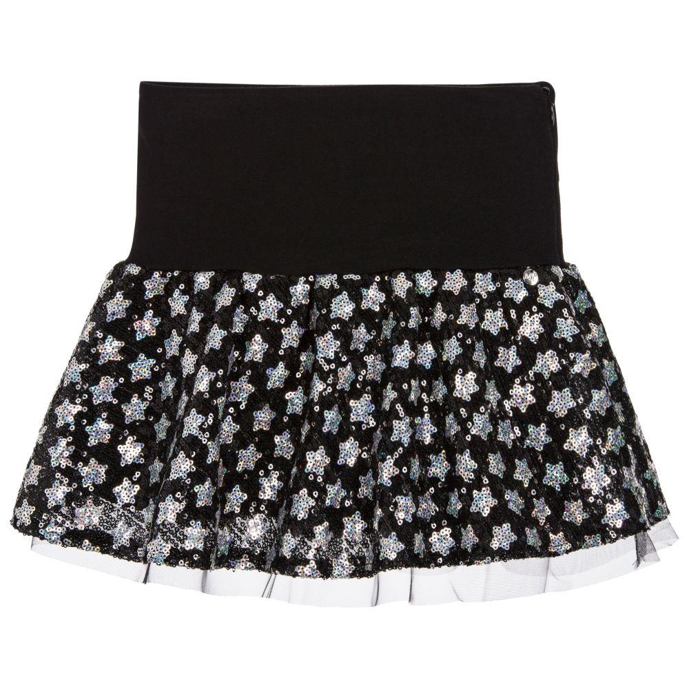 Microbe by Miss Grant - Girls Star Sequin Tulle Skirt | Childrensalon