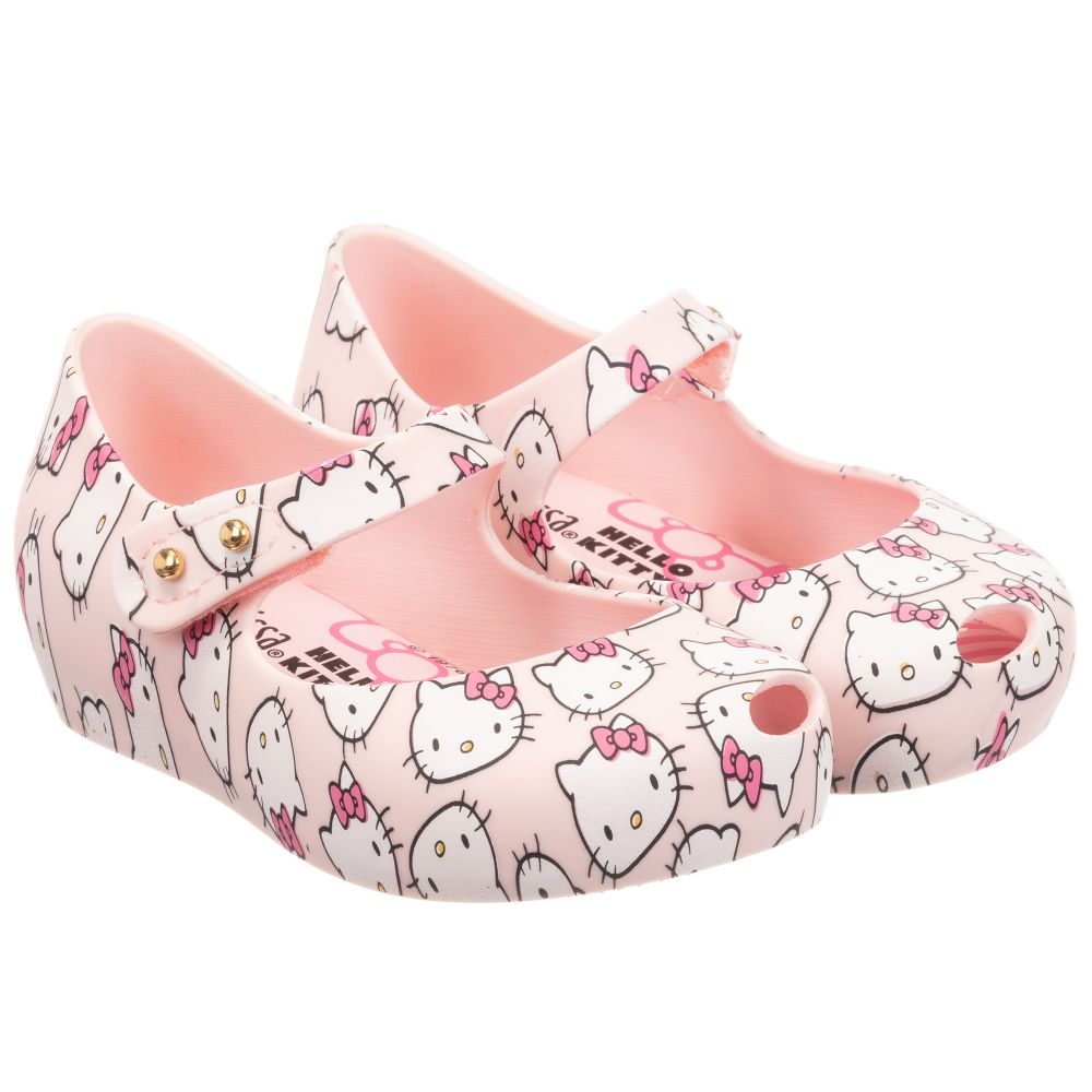 709017c7d Mini Melissa - Pink Hello Kitty Jelly Shoes | Childrensalon