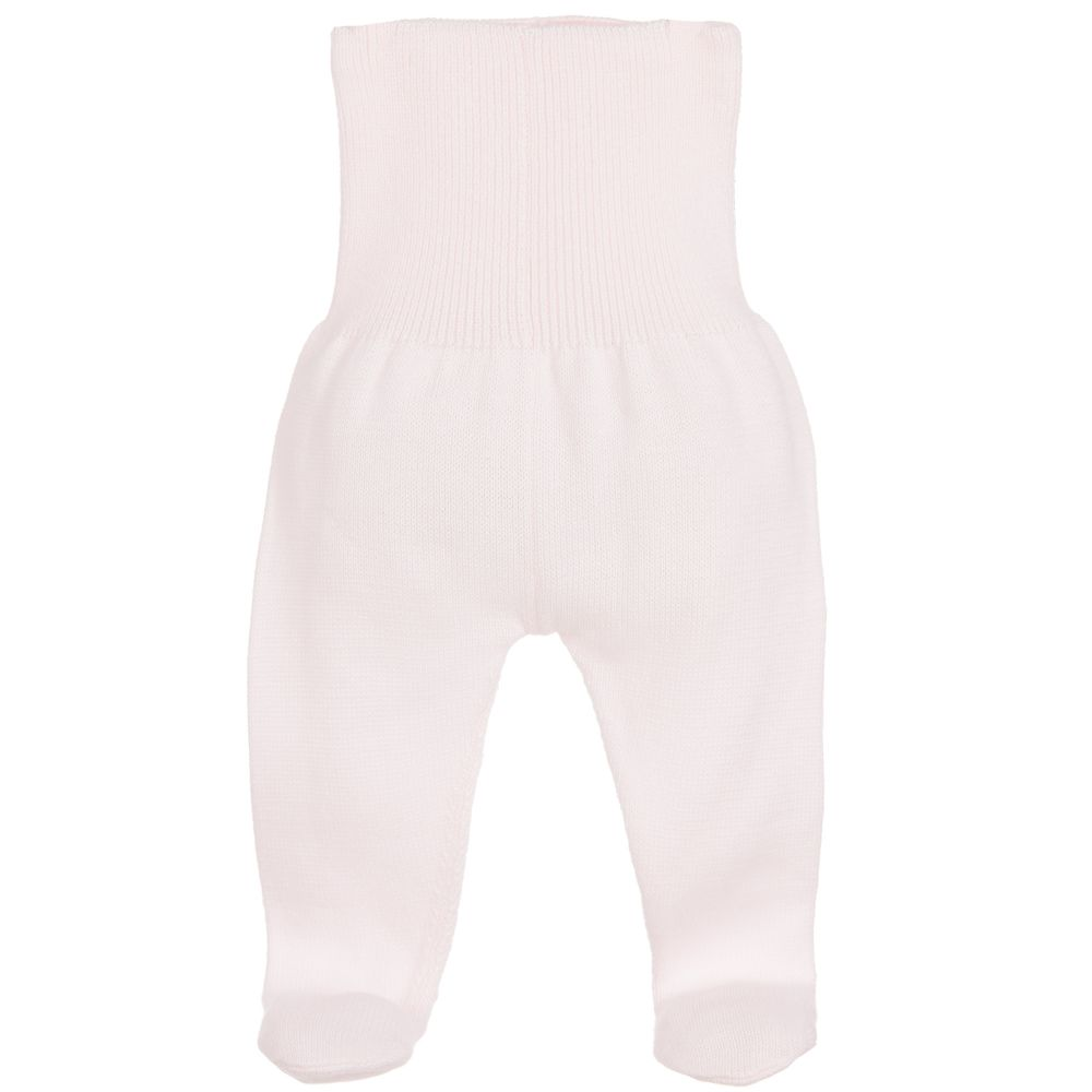 Minutus - Pink Knitted Baby Trousers | Childrensalon