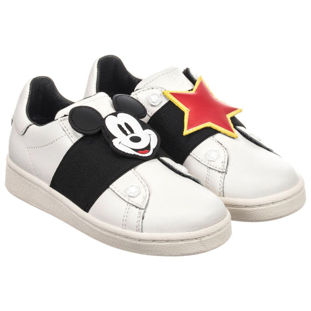 White Disney Trainers