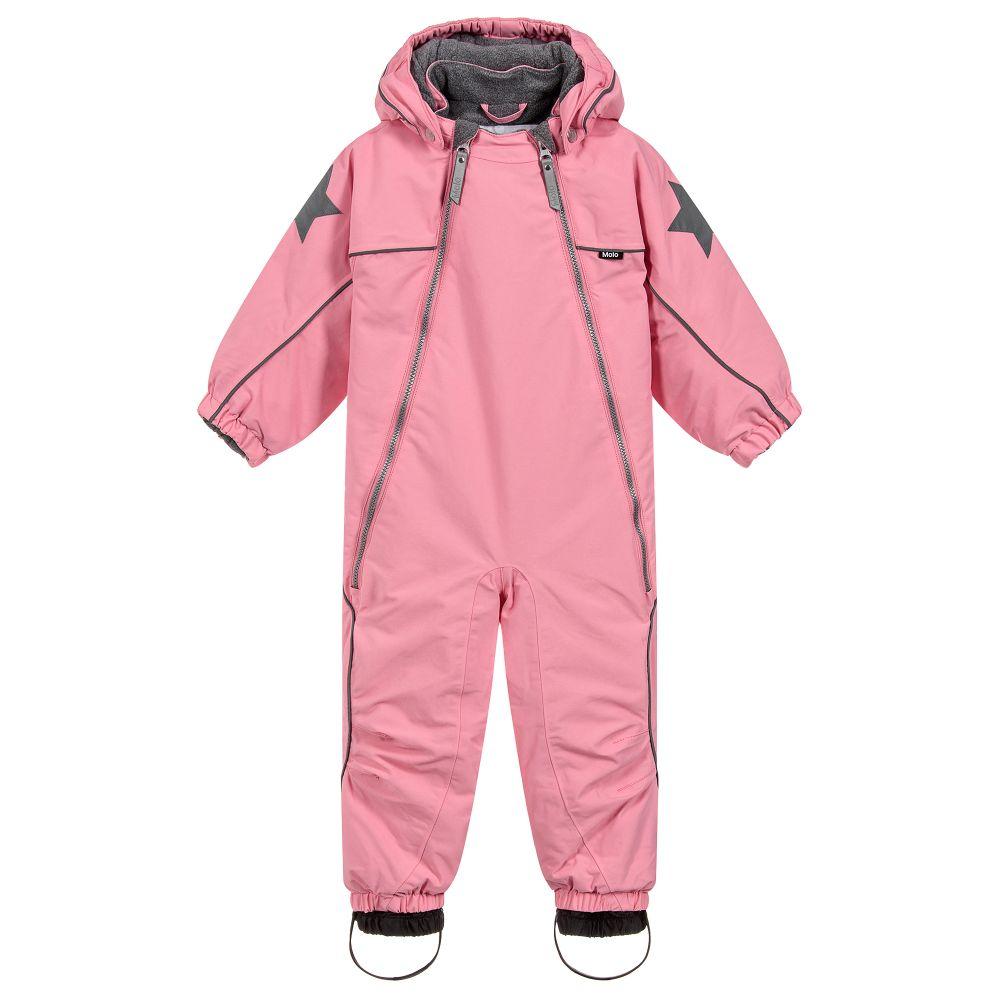 bd574e290 Molo - Girls Waterproof Snowsuit