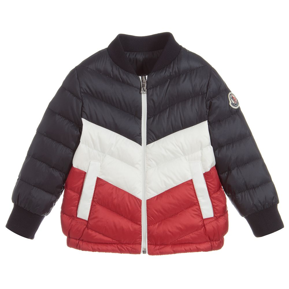 4a8a60e8b Moncler Enfant - Baby Boys Down Padded Jacket | Childrensalon