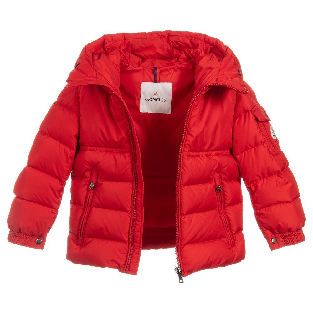 941c1f8d8 Boys Red Down Padded Jacket