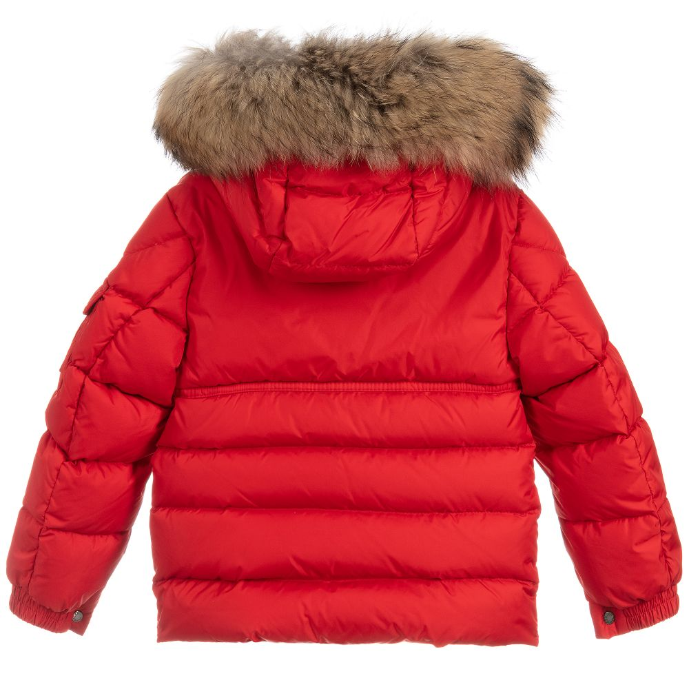 1a6e51916 Boys Red Down Padded Jacket
