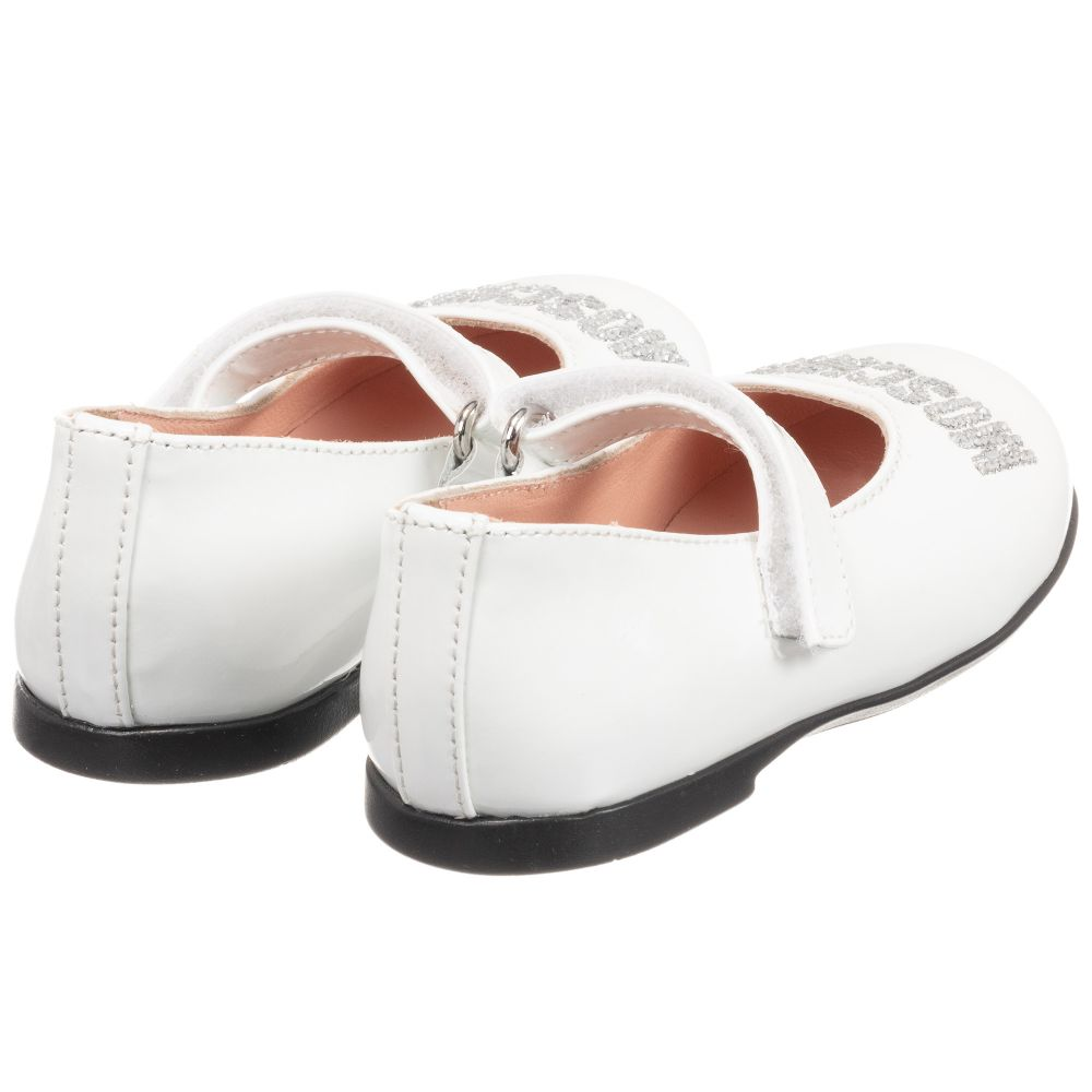 NEW BABY GIRLS LEATHER LINED PATENT WHITE BAPTISM CHRISTENING PARTY FORMAL SHOES