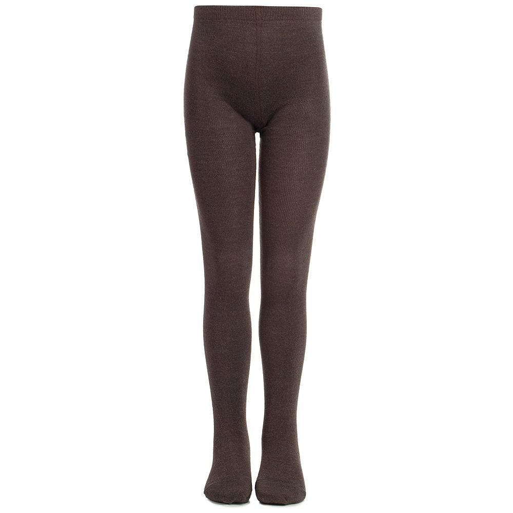 f32841346 MP - Brown Wool   Cotton Tights