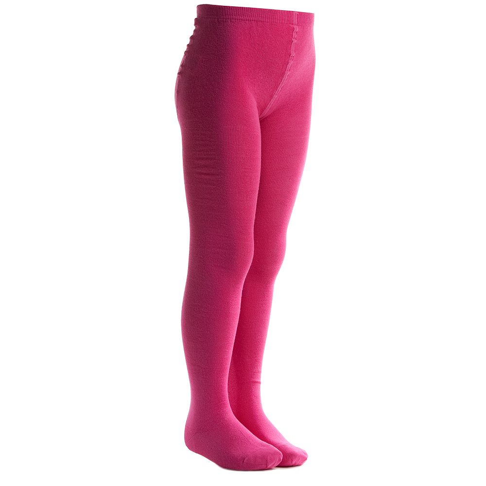 MP - Fuchsia Pink Cotton Tights | Childrensalon