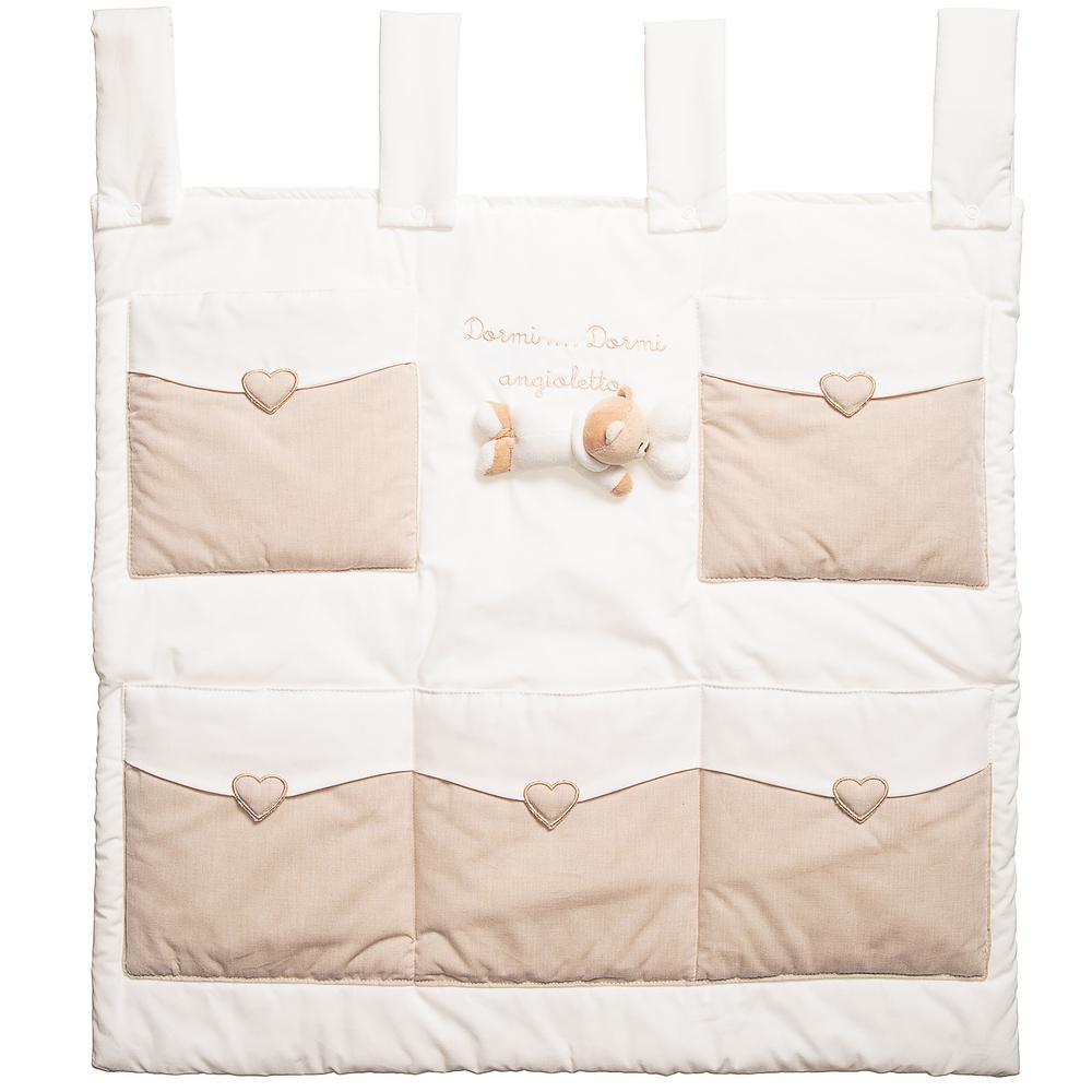 Nanán - Hanging Cotton Storage Tidy (62cm)   Childrensalon