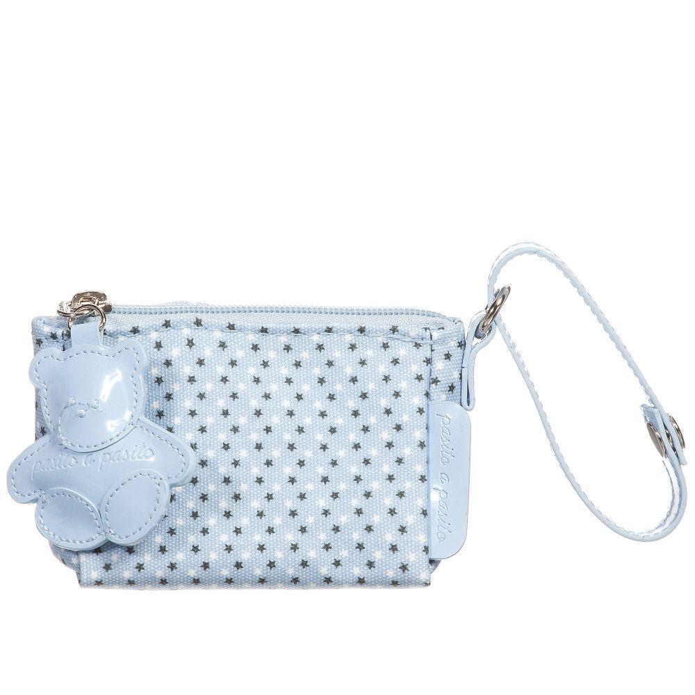 Pasito a Pasito - Blue SOPHIE Dummy Bag (12cm) | Childrensalon