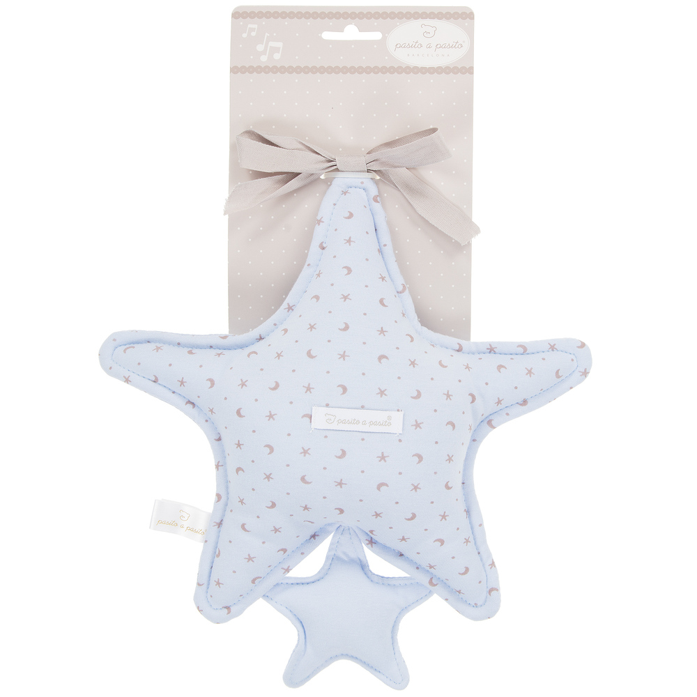 Pasito a Pasito - Pale Blue Star Baby Musical Toy | Childrensalon
