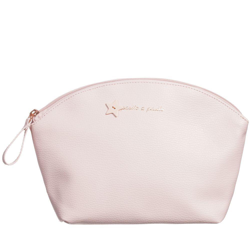 Pasito a Pasito - Pink ELODIE Wash Bag (28cm) | Childrensalon