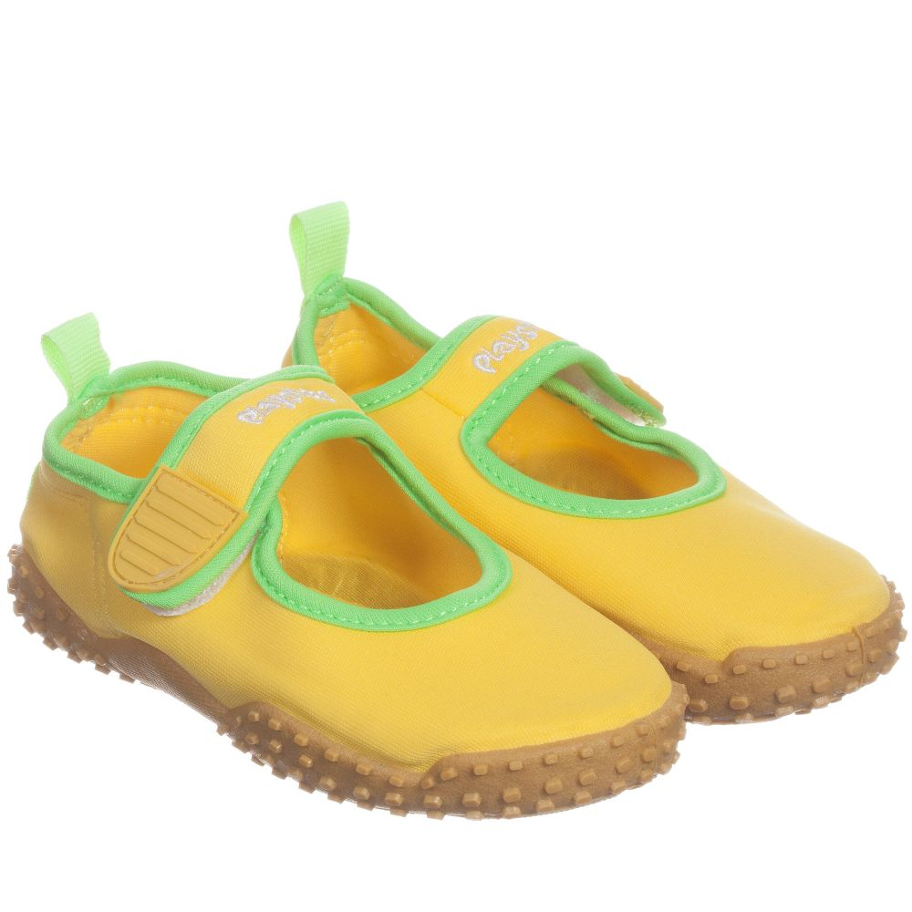 Yellow Aqua Shoes