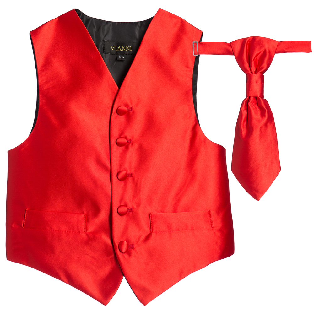 DQT's impressive red waistcoats are timeless and perfect for any formal occasions. Available in men's and boy's sizes. We offer free, fast UK Delivery!