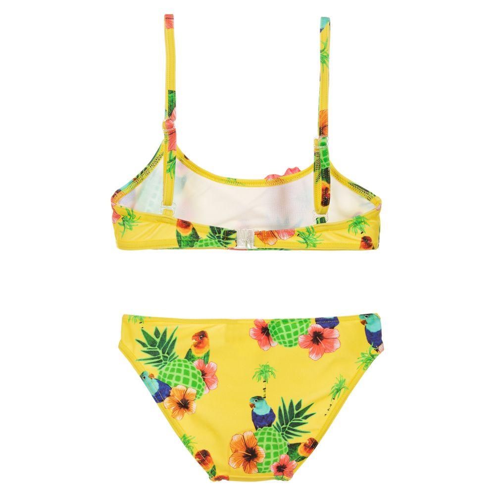 16978330f6d3b Selini Action - Girls Yellow Bandeau Bikini | Childrensalon