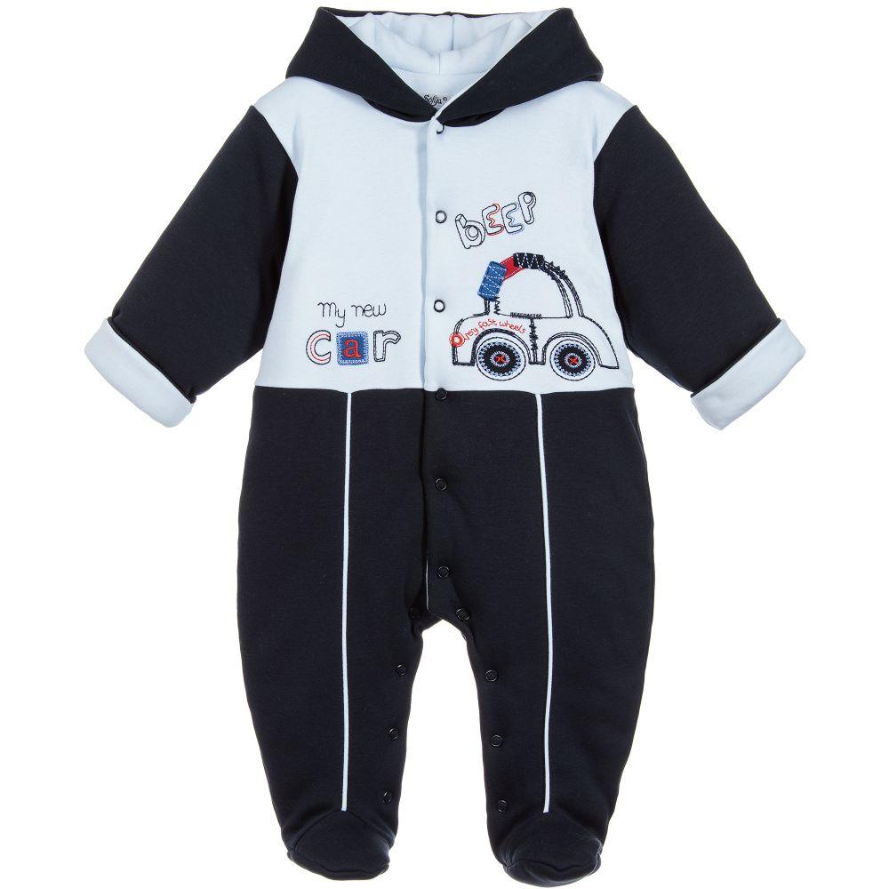 4e08e6429 Sofija - Baby Boys Cotton Pramsuit