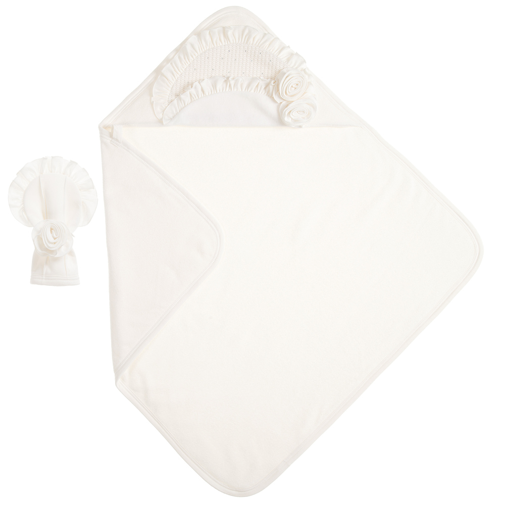 Sofija - Baby Towel & Mitt Set (76cm) | Childrensalon