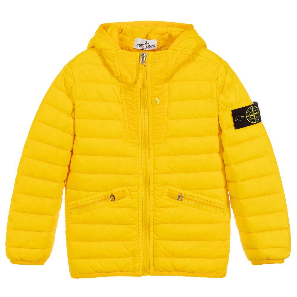wholesale dealer f1c7e 0776e Boys Yellow Down Jacket