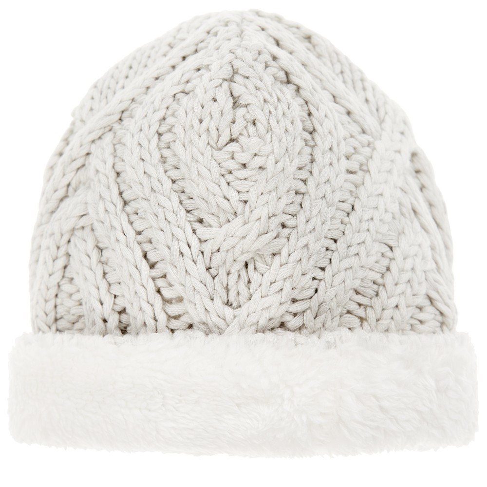 The Little Tailor - Pale Grey Knitted Baby Hat | Childrensalon