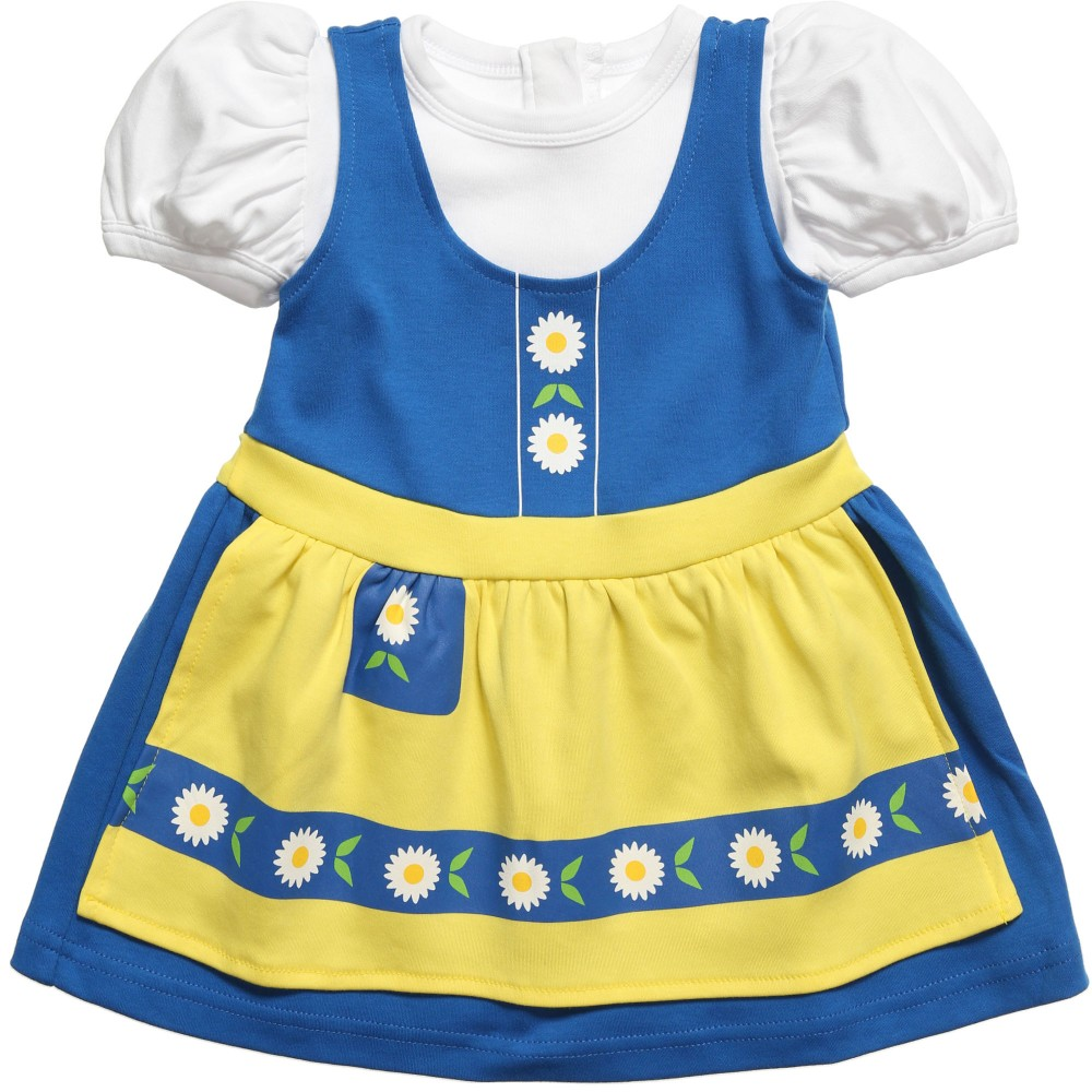 The Tiny Universe - Blue 'The Tiny Swede' Jersey Dress | Childrensalon