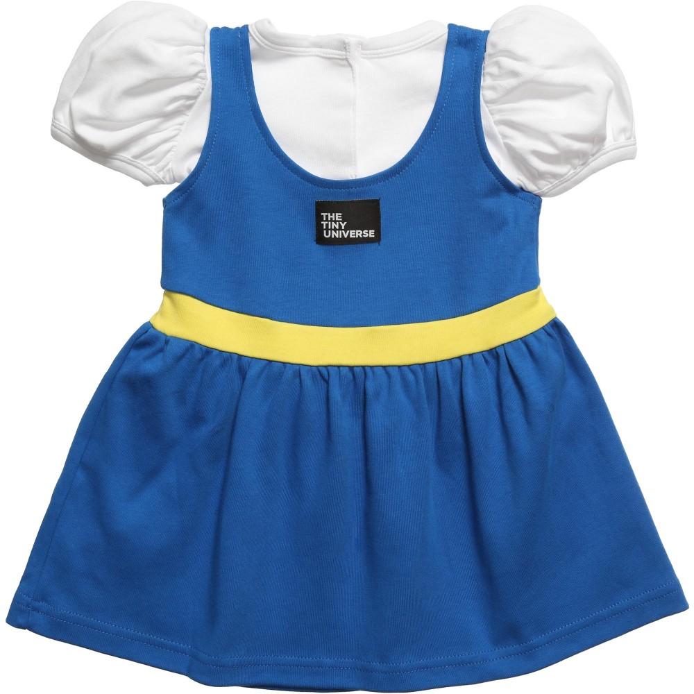 The Tiny Universe Blue The Tiny Swede Jersey Dress