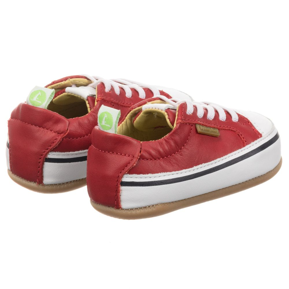 Tip Toey Joey - Red Leather Baby