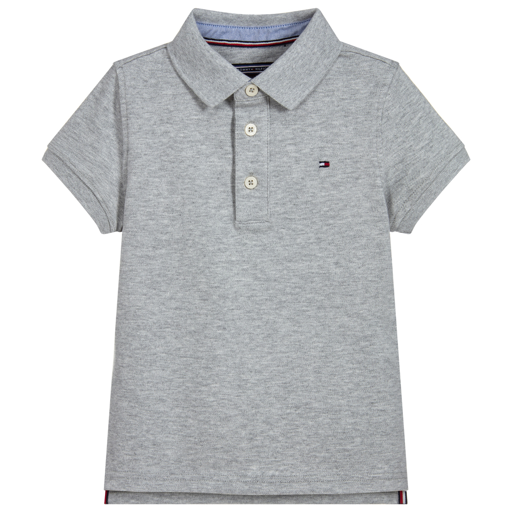 5047858dc Tommy Hilfiger - Boys Organic Cotton Polo Shirt | Childrensalon