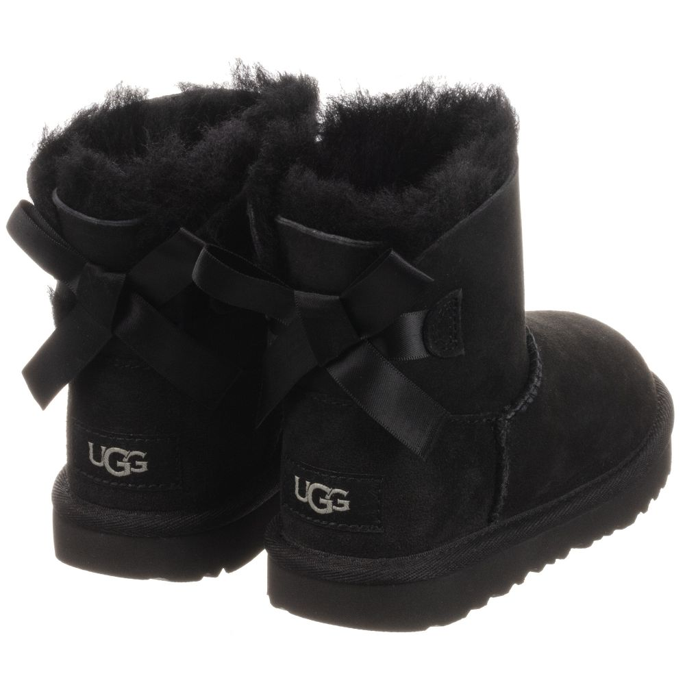 5ebd4c8fa94 Girls Black Leather Boots
