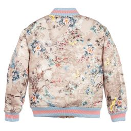 Alviero Martini - Girls Geo Japanese Jacket | Childrensalon