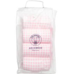 Archimede - Girls Pink Check Float Suit | Childrensalon