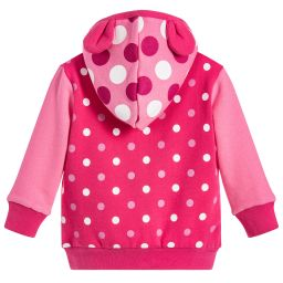 Blade & Rose - Girls Pink Cotton Zip-Up Top | Childrensalon