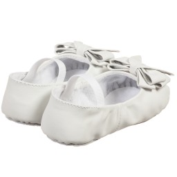 Bloch - Baby Girls White 'Ayva' Pre-Walker Shoes | Childrensalon