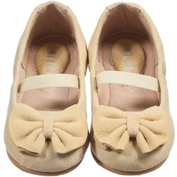 Bloch - Girls Gold 'Vittoria' Ballerina Shoes | Childrensalon
