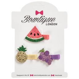 Bowtique London - Set of 3 Hair Clips (5cm) | Childrensalon