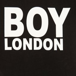 BOY London - Black Cotton Logo T-Shirt | Childrensalon
