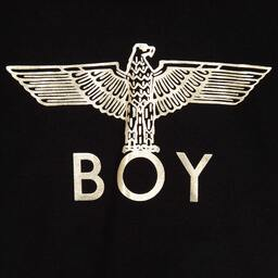 BOY London - Black Logo Hooded Sweatshirt | Childrensalon