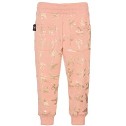 BOY London - Pink & Gold Repeat Joggers | Childrensalon