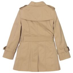 Burberry -  'Sandringham' Trench Coat | Childrensalon