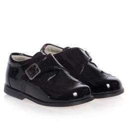 Children's Classics - Boys Black Patent Leather Shoes | Childrensalon