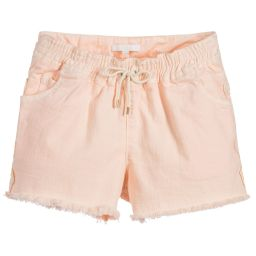 Chloé - Girls Pink Shorts | Childrensalon