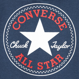 Converse - Boys Blue Fleece Hooded Sweatshirt | Childrensalon