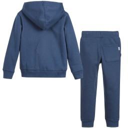 Converse - Boys Blue Fleece Tracksuit | Childrensalon