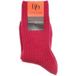 Dore Dore - Luxury Pink Merino Wool Girls Socks | Childrensalon