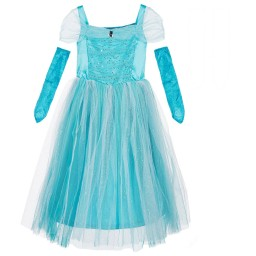 Dress Up by Design - Girls Turquoise 'Sparkle Princess' Dress-Up Costume | Childrensalon