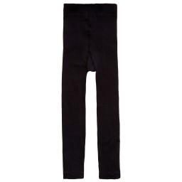 Falke - Black Fine Cotton Leggings | Childrensalon