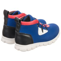 Fendi - Blue Monster Trainers | Childrensalon